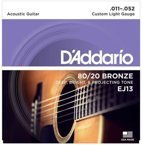 Cách nhận biết dây đàn guitar acoustic tốt để chọn mua