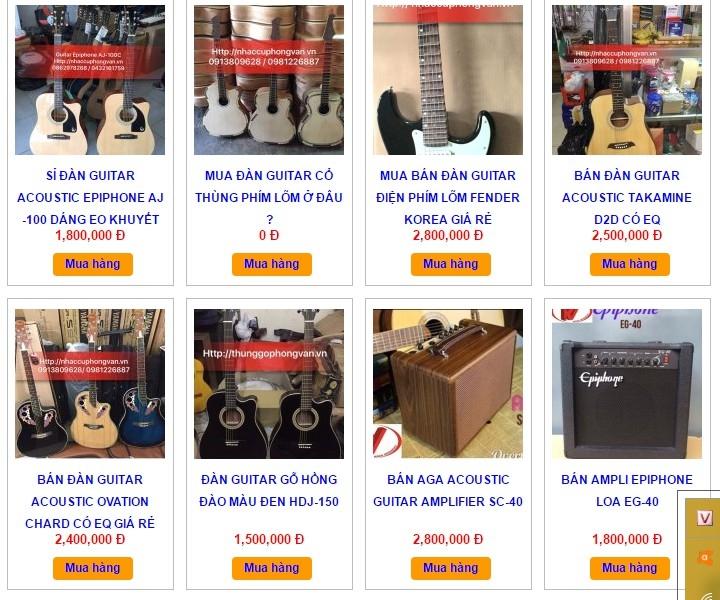 Công ty nhạc cụ Phong Vân