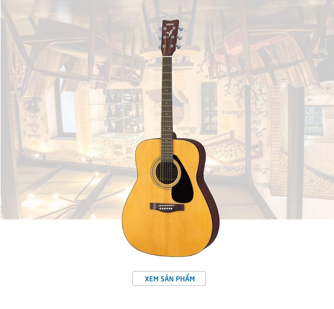 Đánh Giá Đàn Guitar Acoustic Yamaha Chính Hãng F310