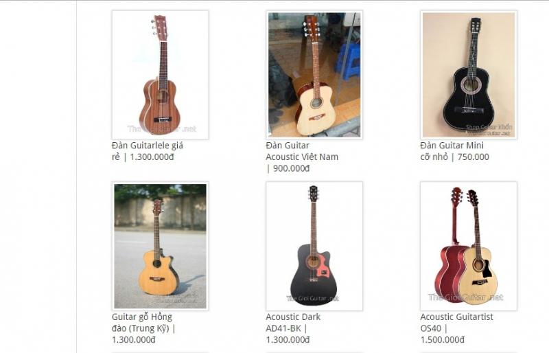 Shop Guitar Nhổn