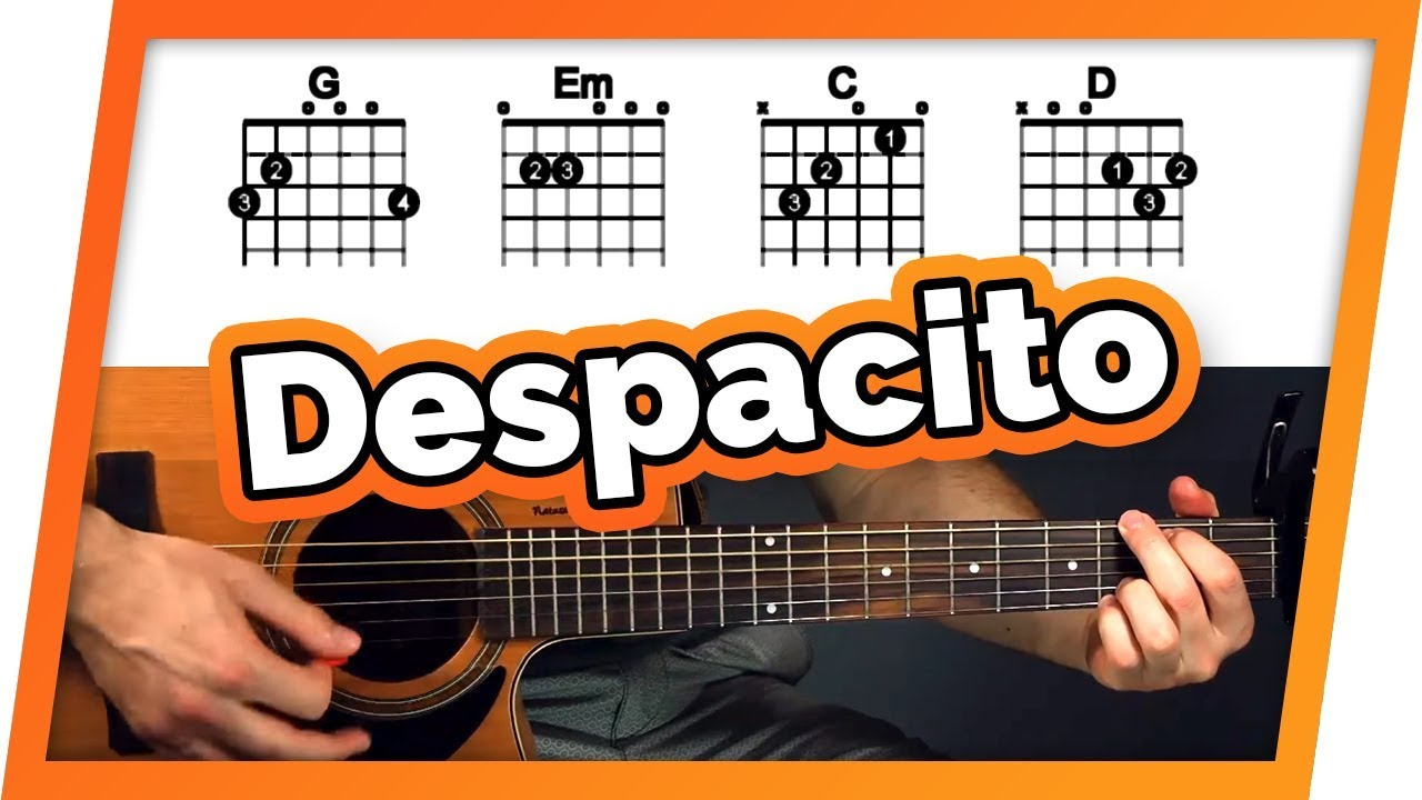 Despacito Guitar Tutorial (Luis Fonsi ft. Daddy Yankee & Justin ...