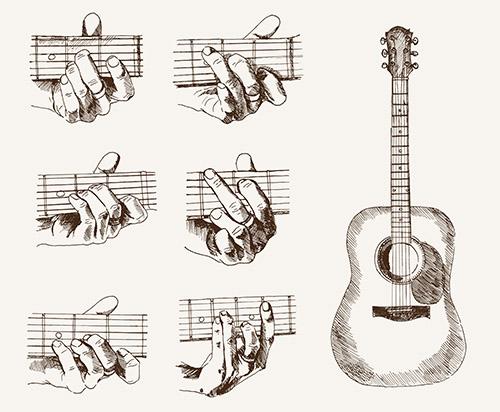 Các hợp âm màu Cực Hay mà Guitar Đệm hát Cần phải biết ...