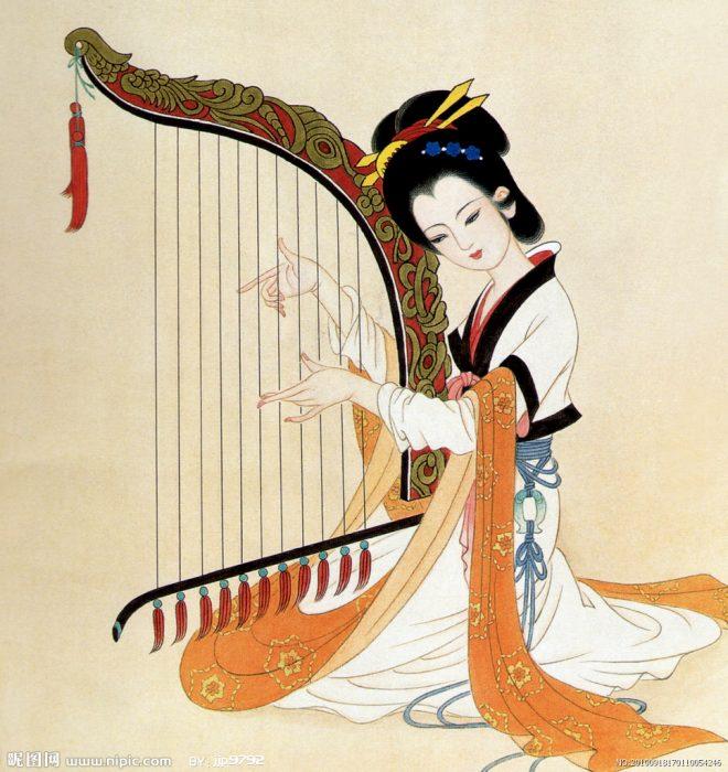 Chất liệu diễm lệ của cây đàn Hạc cầm cổ xưa: Mơ về nơi xa lắm - DKN.News