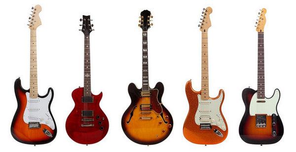 Guitar điện là gì? Nên lựa chọn học guitar điện hay guitar thùng