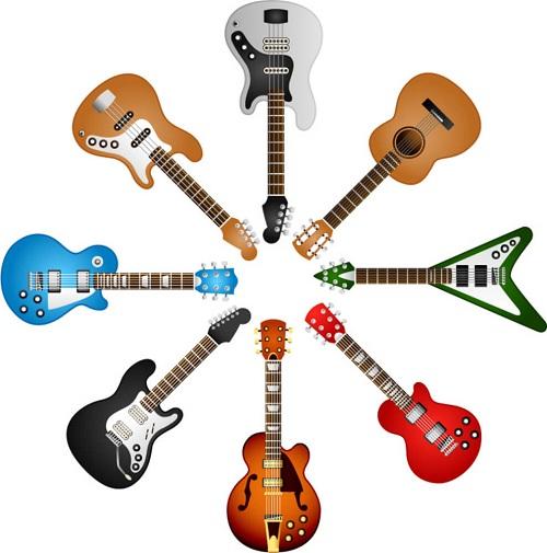 cách chơi đàn guitar điện