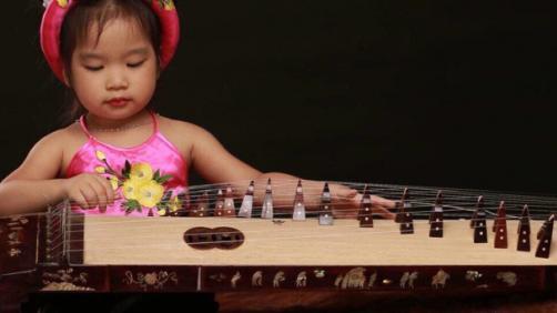 Đàn tranh Việt Nam phù hợp với mọi lứa tuổi. Ảnh: Mytranh Nguyen