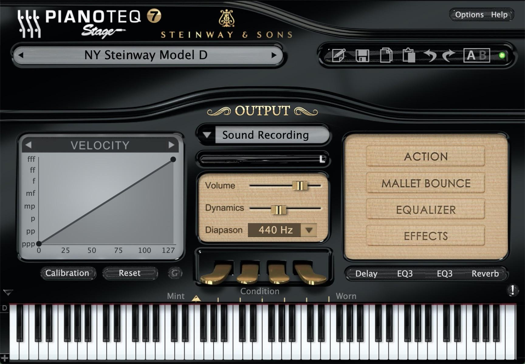 MODARTT Pianoteq 7 Stage Edition Virtual Instrument Software | Sweetwater