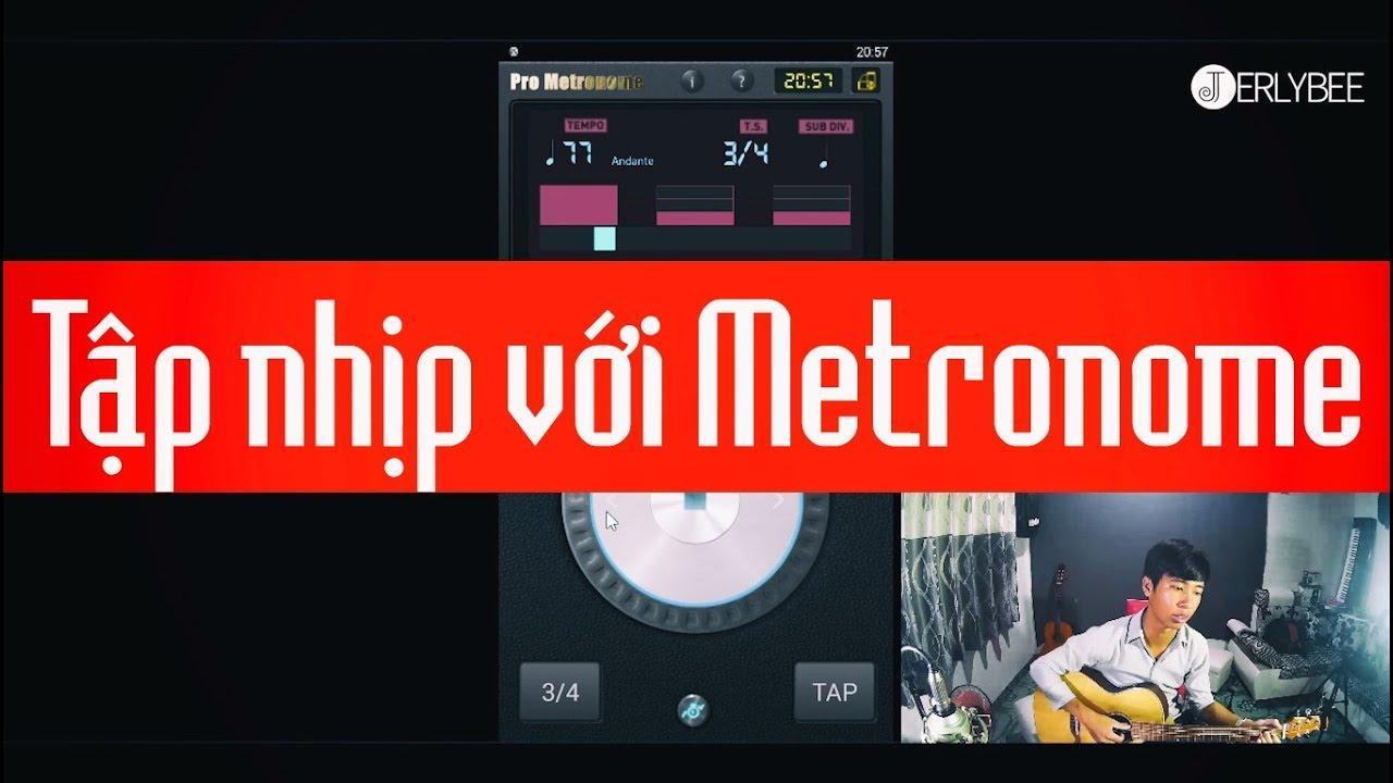 Phần mềm gõ nhịp điệu Pro Metronome