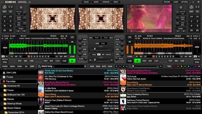 Digital1 PCDJ DEX 3 MP3, Video & Karaoke DJ Software (Digital Download)