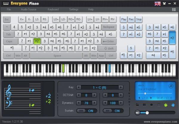 Top 5 game chơi piano trên máy tính bằng bàn phím