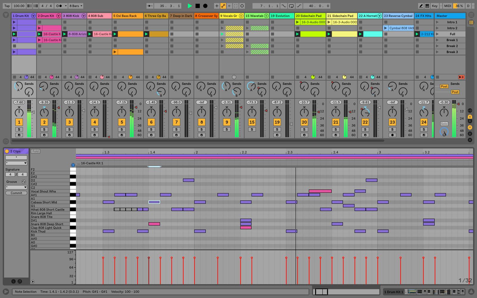 Ableton Live Music - Phần mềm làm nhạc không thể bỏ qua