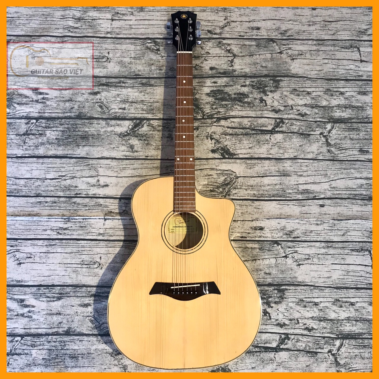 Guitar Acoustic giá rẻ ET-75SV mua ở đâu tại HCM