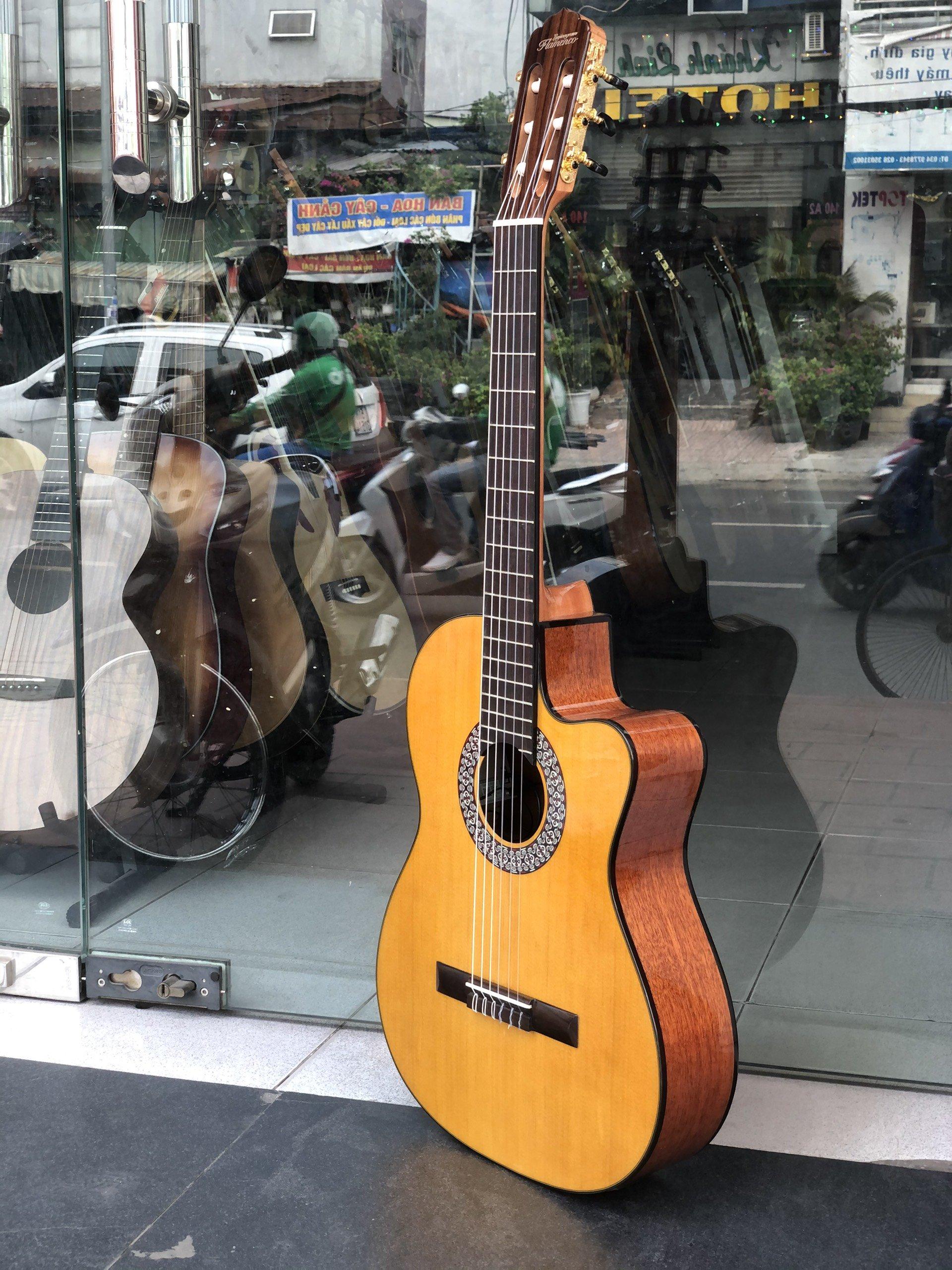 Đàn Guitar classic Flamenco Chính Hãng - PHONG VÂN MUSIC
